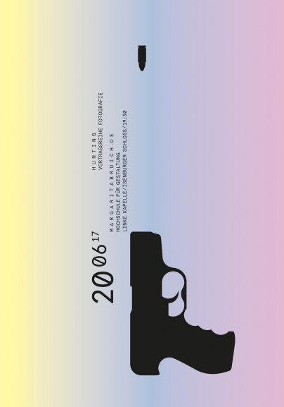 Poster series »Hunting« by Klaus Hesse